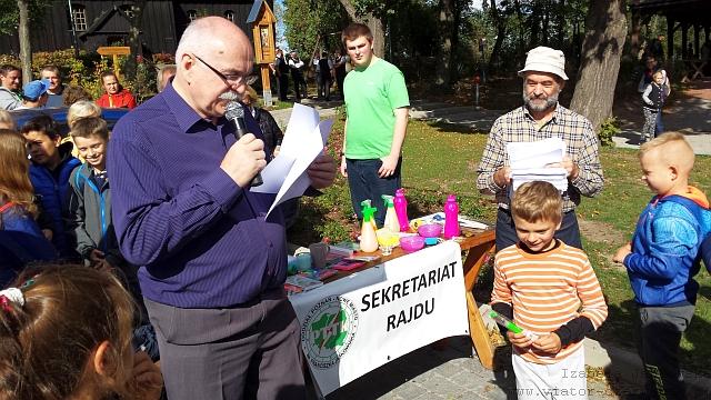 XXV Wielkopolski Rajd - Witamy jesień u Augusta Cieszkowskiego - Wierzenica, 29.09.2018 r.