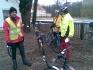 Rowerowe spotkania na szlakach Puszczy Zielonka :: Przez błoto i ....