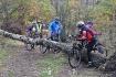 Wycieczka rowerowa wraz z KTR Sigma z cyklu: Znicz Pamięci - 24.10.2015 r.